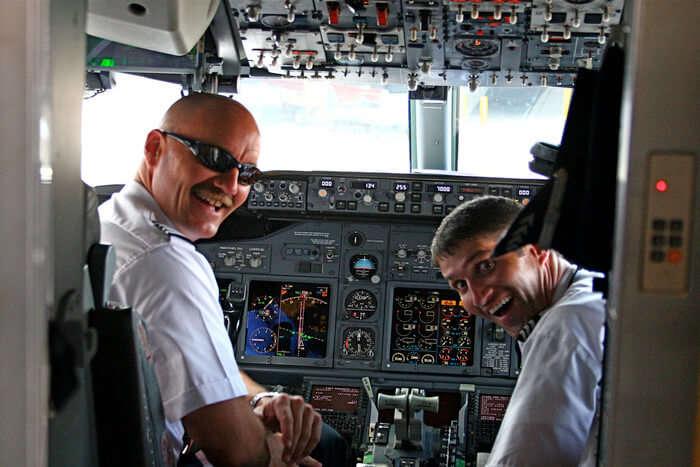 Pilot of plane