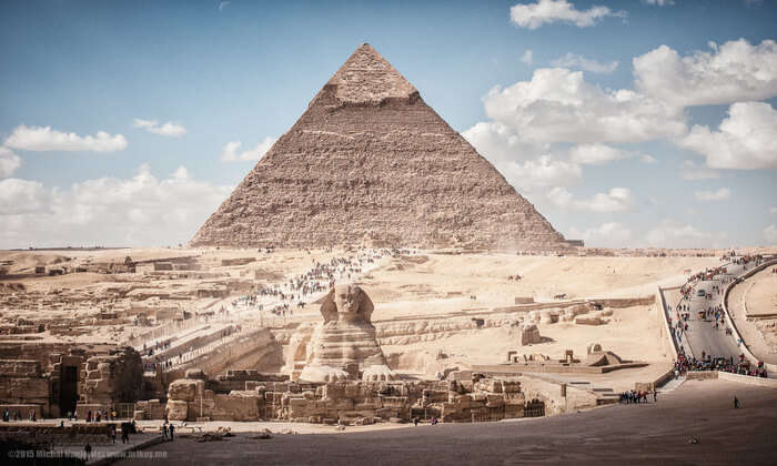 second largest Pyramid of Giza