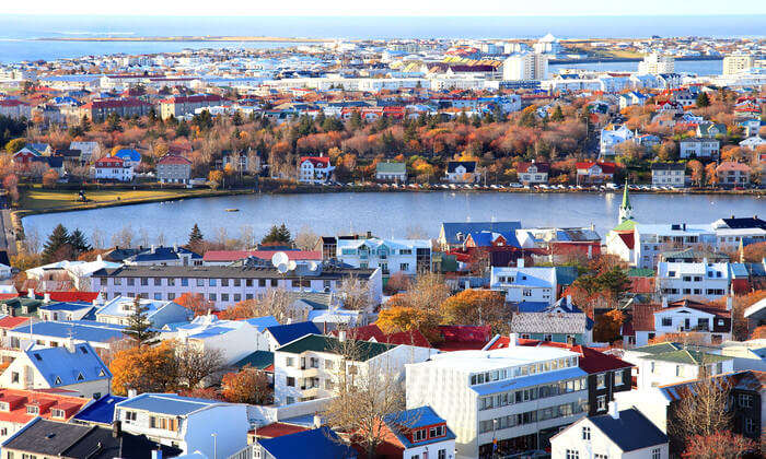 City view of Iceland