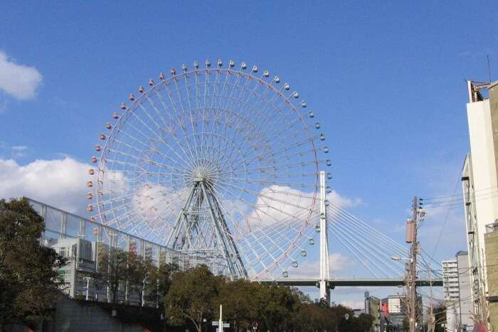 Ride the Tempozan Ferris Wheel