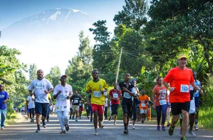 Run in a marathon across Mount Kilimanjaro