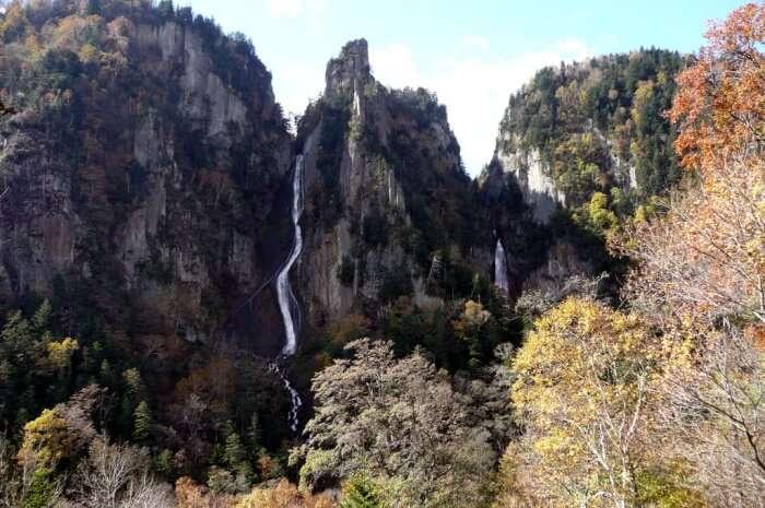 Ryusei and Ginga Falls