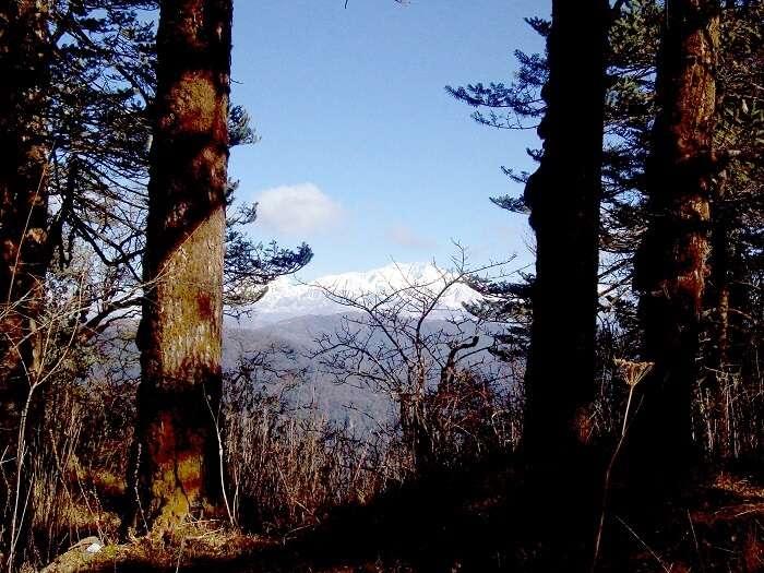 view of kanchenjunga