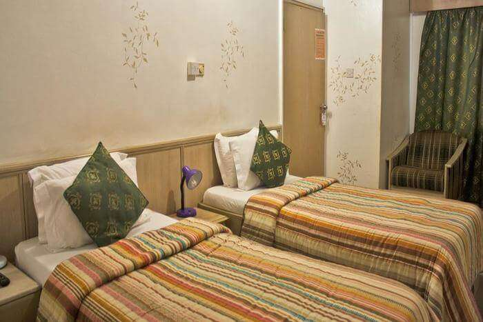 very popular guest house in the city