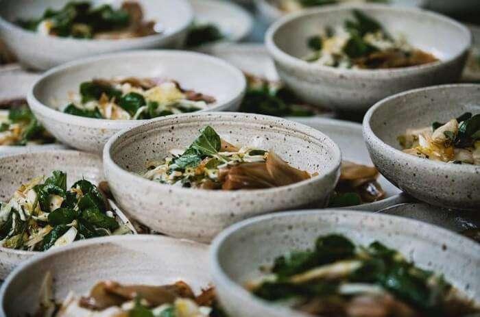 Sample food festival