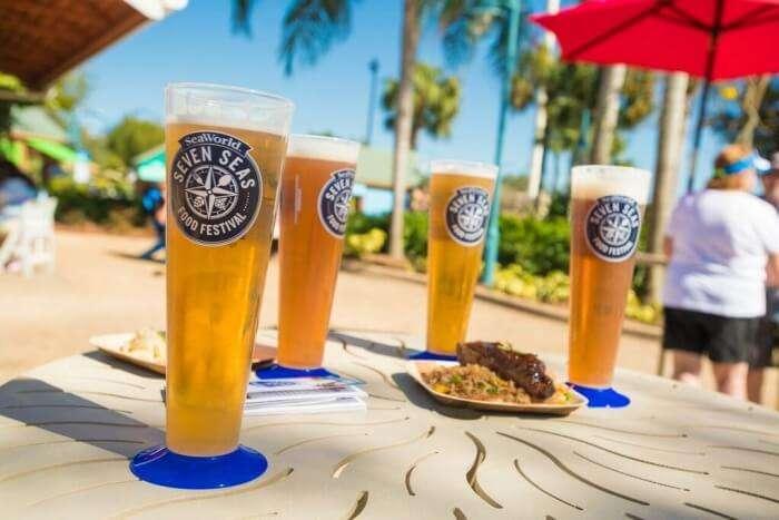 Seaworld's Craft Beer Festival