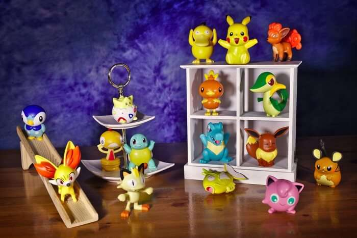 Shop for your favorite Pokemon souvenirs