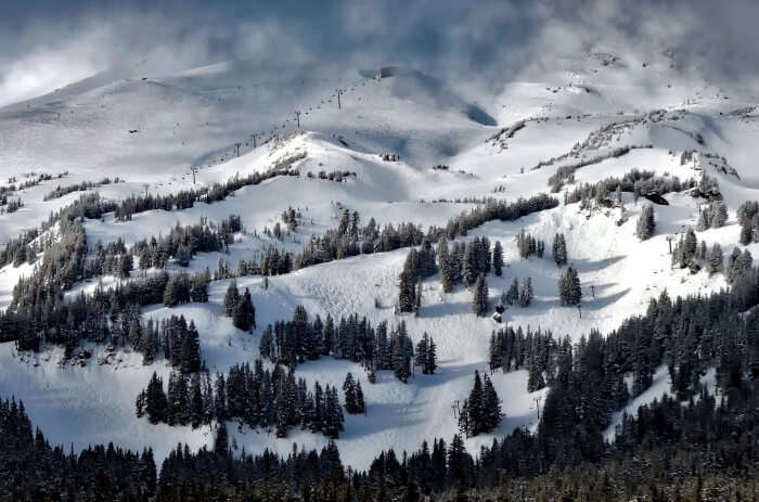 Skiing At Mount Hood