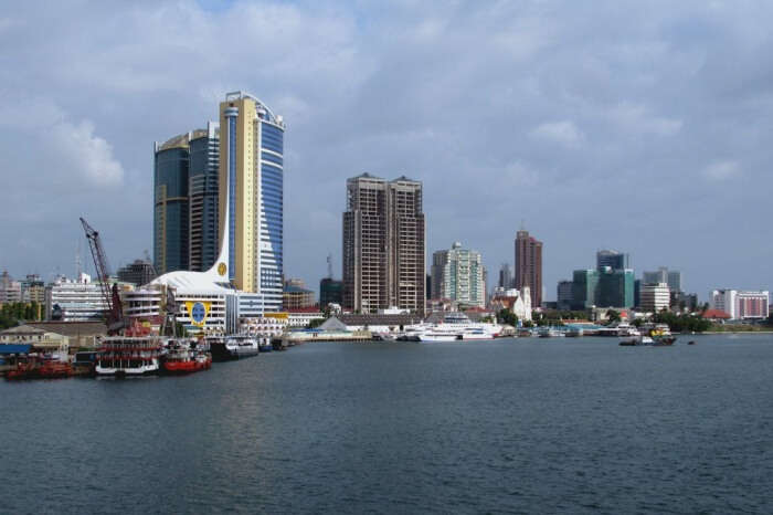 Spend the day in the city of Dar es Salaam