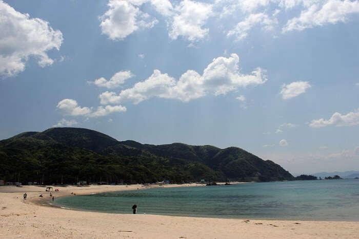 Suishohama Beach in Fukui Prefecture