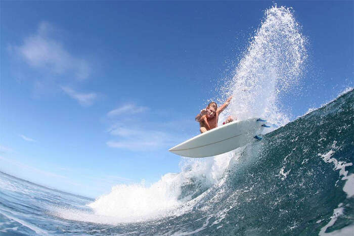 Surf or Paddle Board in the ocean