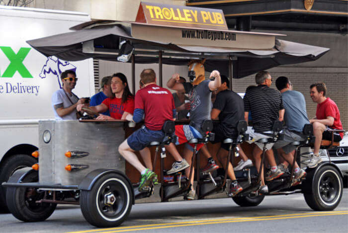Take A Beer Bike Tour