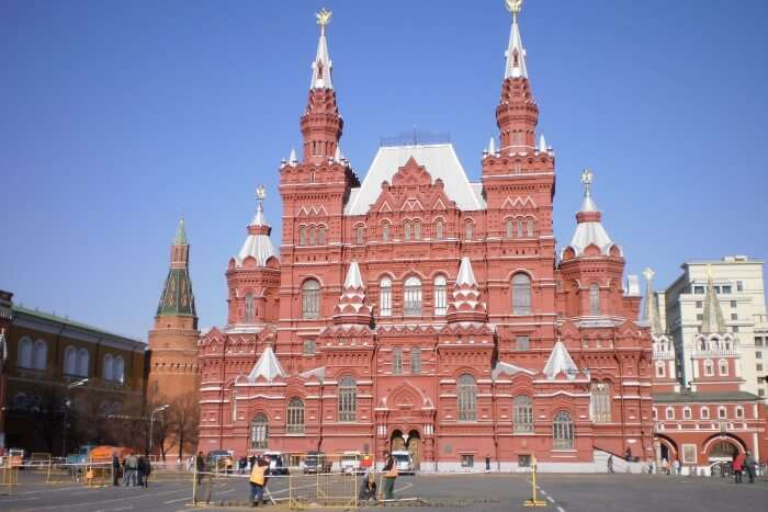 The Museum of History of Moscow