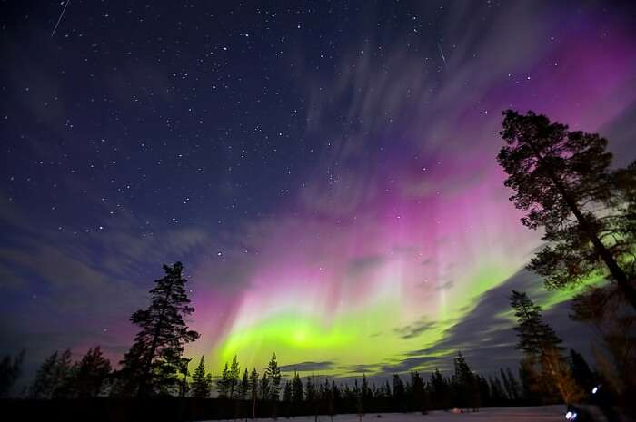 The Northern Lights and Midnight Sun