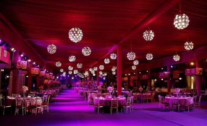 luxury event in Delhi