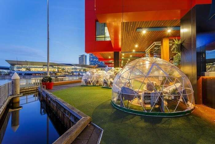 luxury venue for new year in melbourne