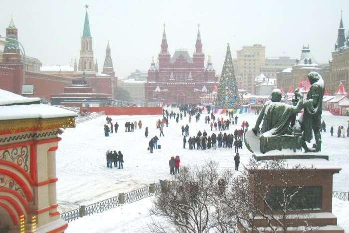 The beautiful Moscow