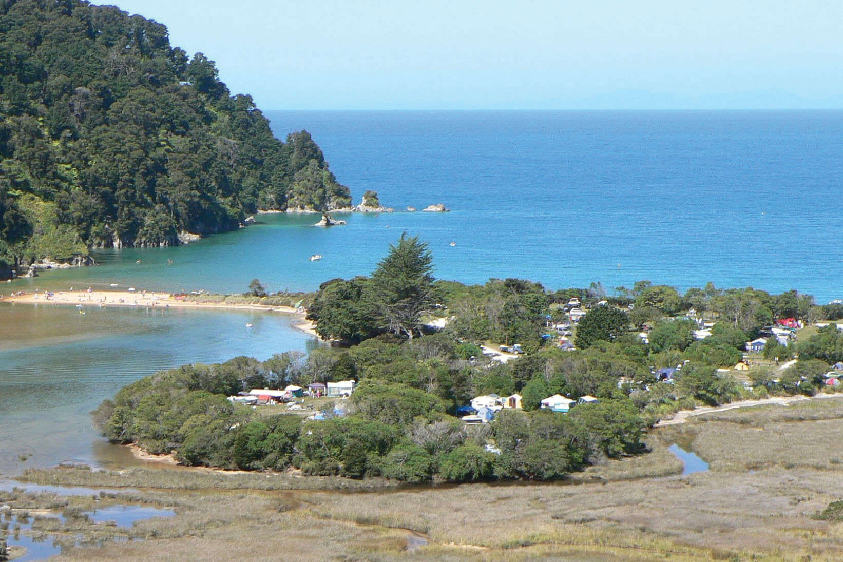 Totaranui Campground