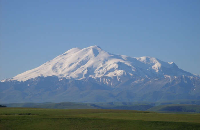 Trekking At Mount Elbrus