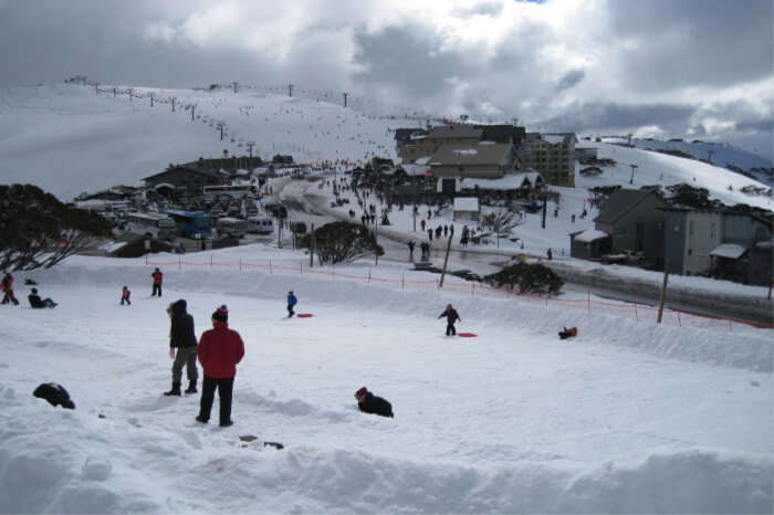 Ski or snowboard down the slopes in Japan