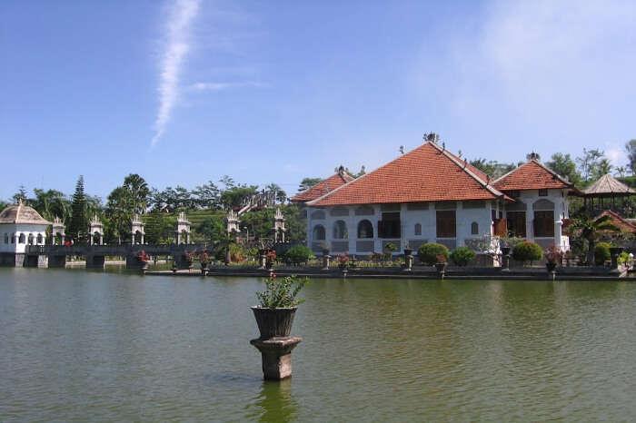 Ujung Water Palace History