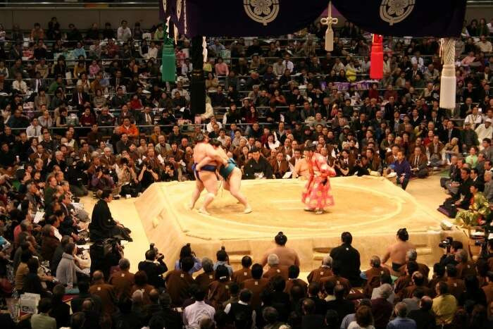 Watch the Sumo Spring Grand Tournament