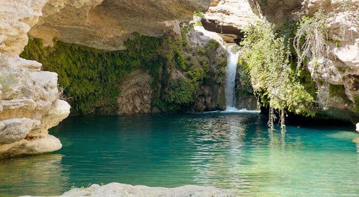 Waterfall of El Usero