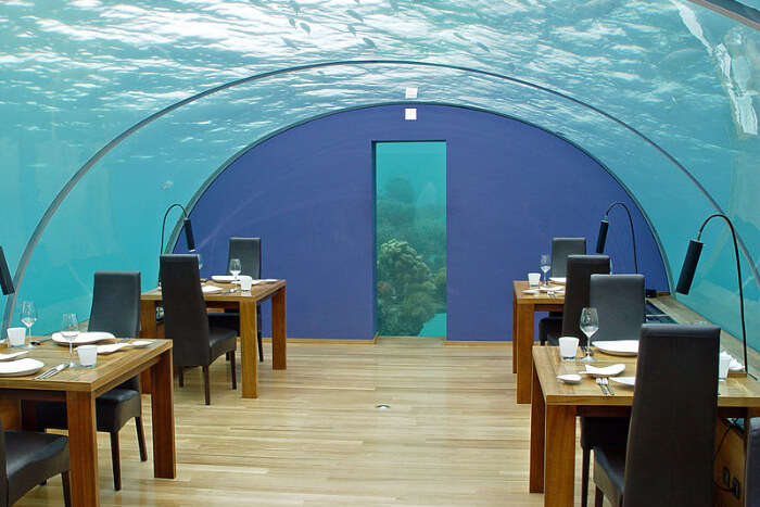 Underwater Restaurant View