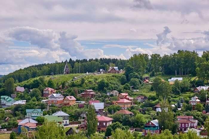 homestay Zarechnaya