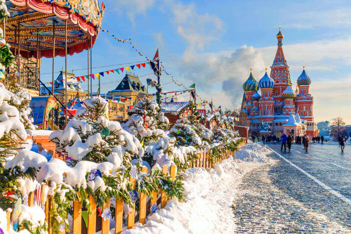 Here Is Where You Should Spend Christmas In Russia In 2018