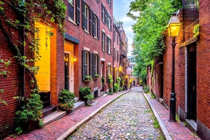 boston in summer