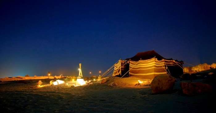 Most Fabulous Places for Desert Camping In Dubai