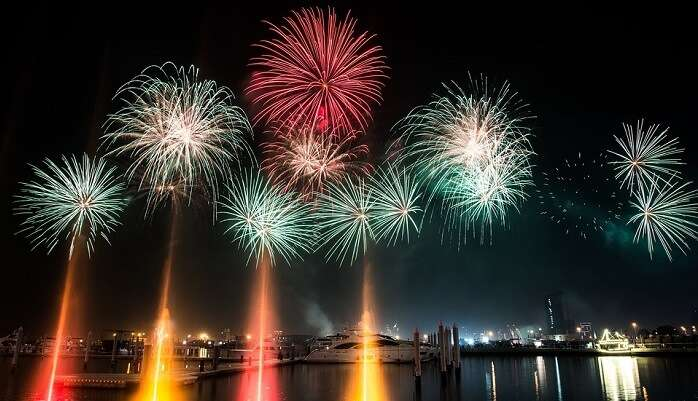 dubai new year
