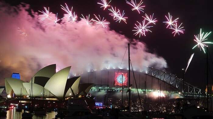 Sylvester Sydney Fireworks Australia Opera