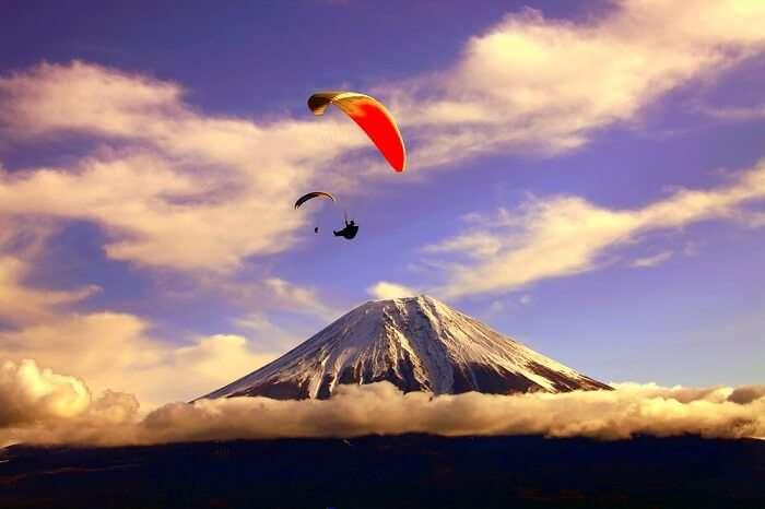japan paragliding cover