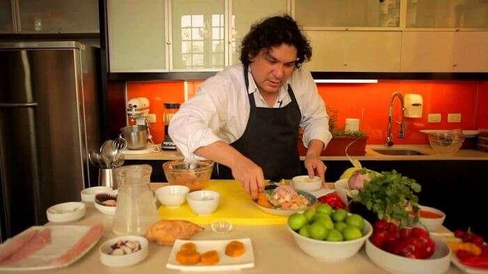 Chef Gaston Acurio