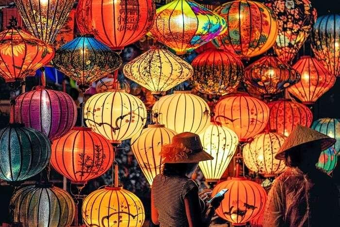 Visit lantern exhibition