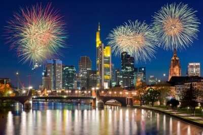 celebrations in Germany for new year