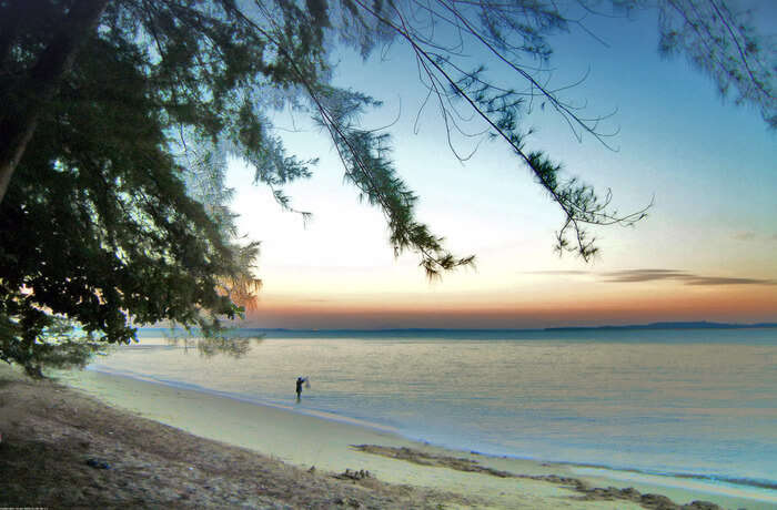 About Changi Beach