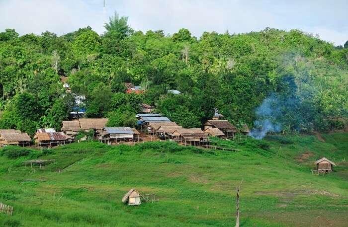 Thailand Landscape view