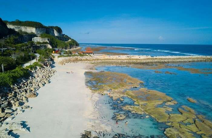 About Melasti Beach