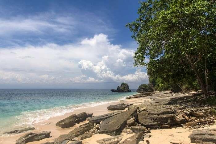 About Padang Padang Beach