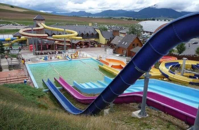 Aquapark view
