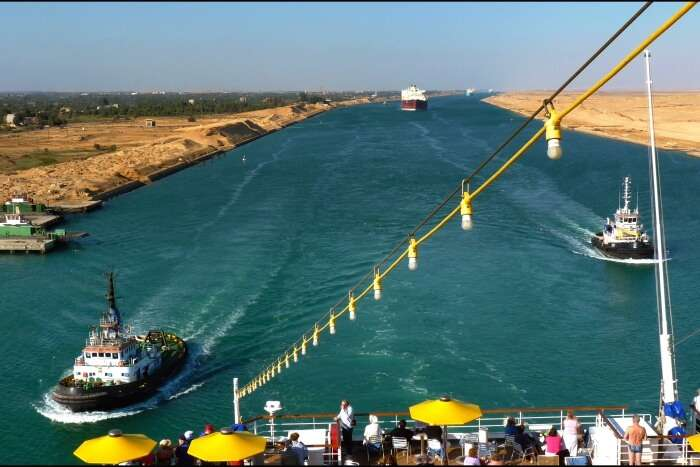 Arabian Sea & Suez Canal Cruise