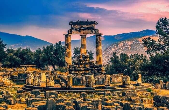 Athens to Delphi