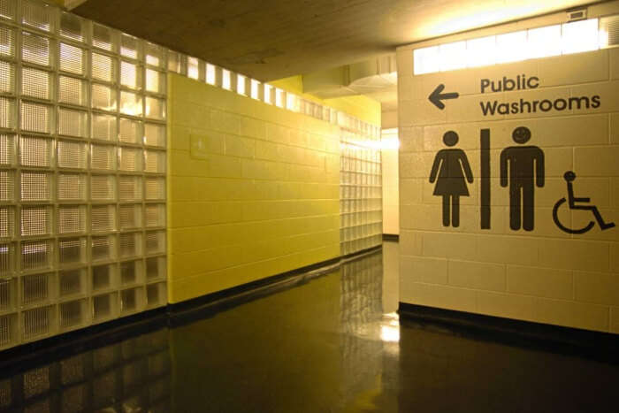 Avoid using public washrooms