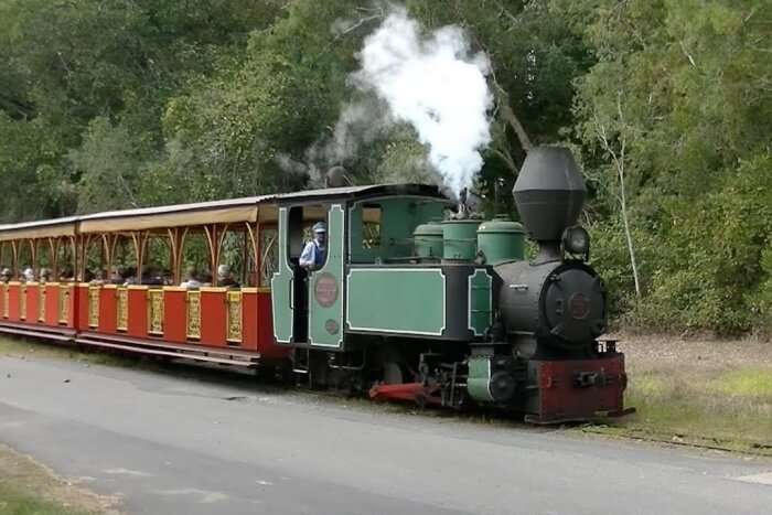 Bally Hooley Train