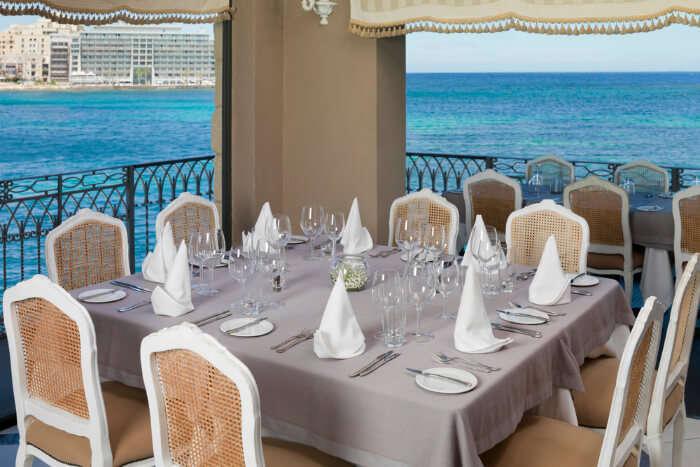 Barracuda Restaurant in Malta