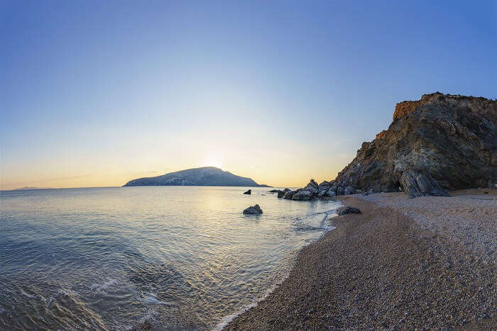 Beach Of Sounio