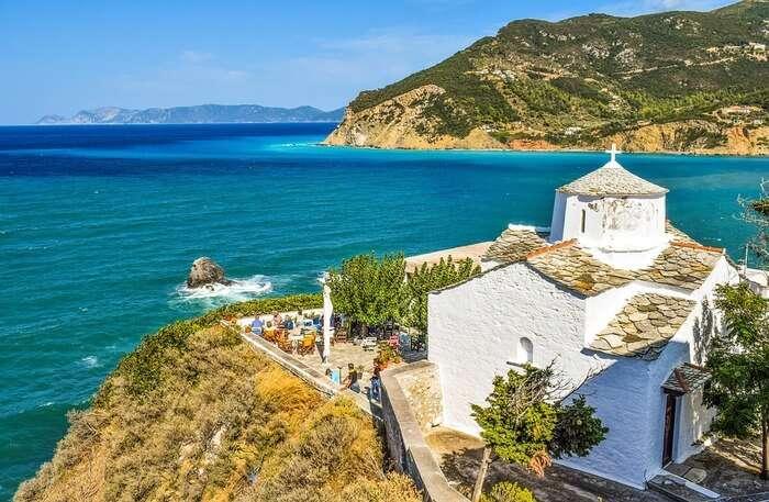 Greece Greek Sporades Skopelos Island